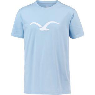 Cleptomanicx Mowe T-Shirt Herren Light Blue