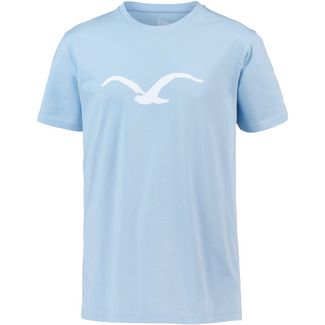 Cleptomanicx Mowe T-Shirt Herren Light Blue