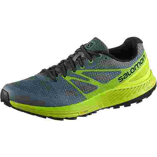 Salomon SENSE ESCAPE Laufschuhe Herren stormy-weather-acid-lime-lime-green
