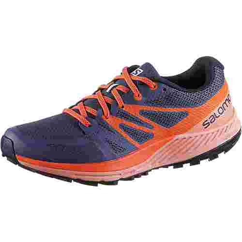 Salomon SENSE ESCAPE W Laufschuhe Damen crown-blue-coral-almond-nasturtium