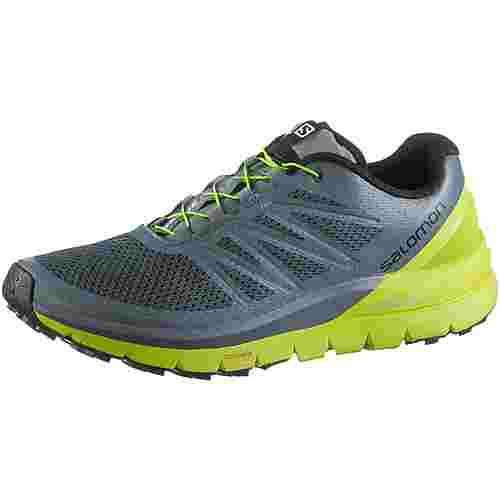 Salomon SENSE PRO MAX Laufschuhe Herren stormy-weather-acid-lime-black