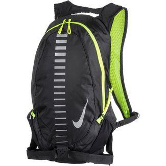Nike RUN COMMUTER 15L Trinkrucksack black-volt-silver