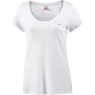 Tommy Jeans T-Shirt Damen classic white