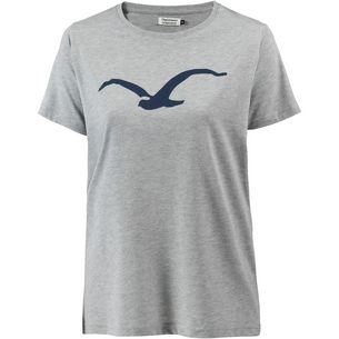 Cleptomanicx Möwe T-Shirt Damen Heather Gray