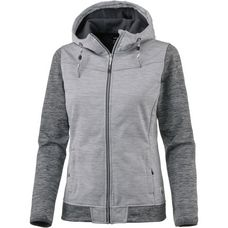 ICEPEAK Elsa Softshelljacke Damen light grey