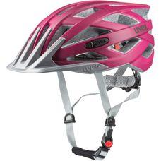 Uvex i-vo cc Fahrradhelm dark pink mat