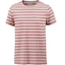 Craghoppers Bernard T-Shirt Herren red earth stripe
