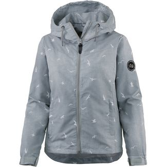 WLD WINNYWOOD III Kapuzenjacke Damen GREY MELANGE