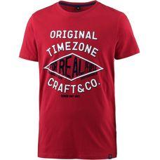 TIMEZONE T-Shirt Herren chilli red