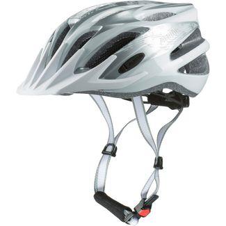 ALPINA TOUR 2.0 Fahrradhelm silver-white
