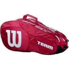 Wilson TEAM III 6PK BAG Tennistasche red-white