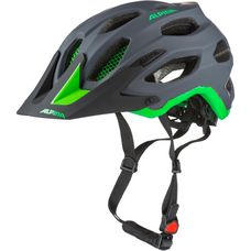 ALPINA Carapax Fahrradhelm charcoal-green