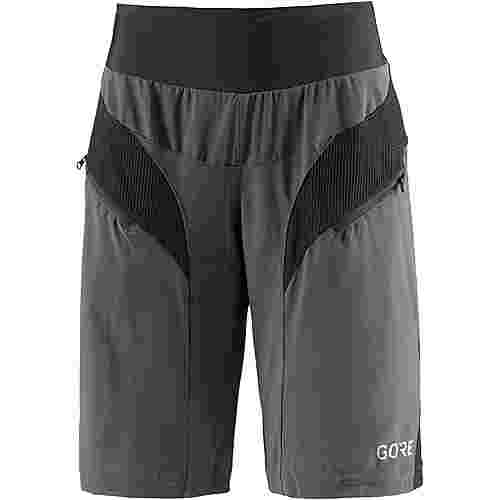 GORE® WEAR C5 DAMEN TRAIL LIGHT SHORTS Fahrradshorts Damen terra grey/black