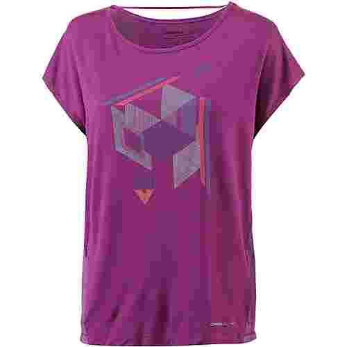 O'NEILL MESH T-Shirt Damen Hollyhook