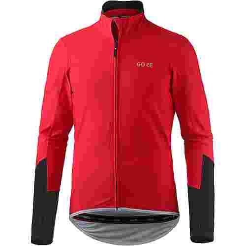 GORE® WEAR C5 GORE® WINDSTOPPER® TRIKOT Fahrradtrikot Herren red