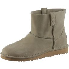 Ugg CLASSIC UNLINED MINI Bootie Damen antelope