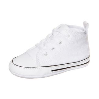 CONVERSE Chuck Taylor First Star Sneaker Kinder white