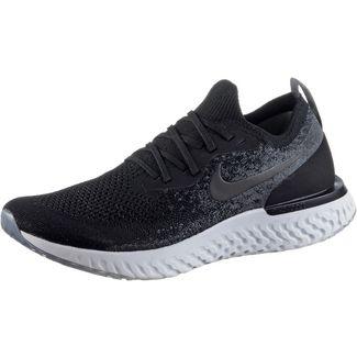 Nike EPIC REACT FLYKNIT Laufschuhe Herren black-black-dark-grey-pure-platinum