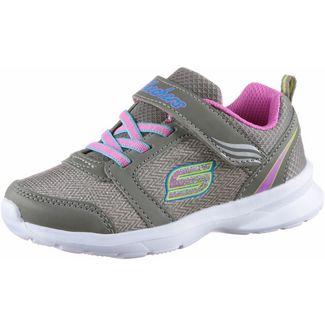 Skechers Sneaker Kinder silber