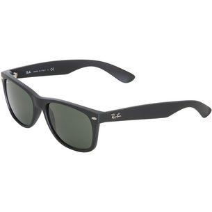 RAY-BAN New Wayfarer 0RB2132 Sonnenbrille black rubber