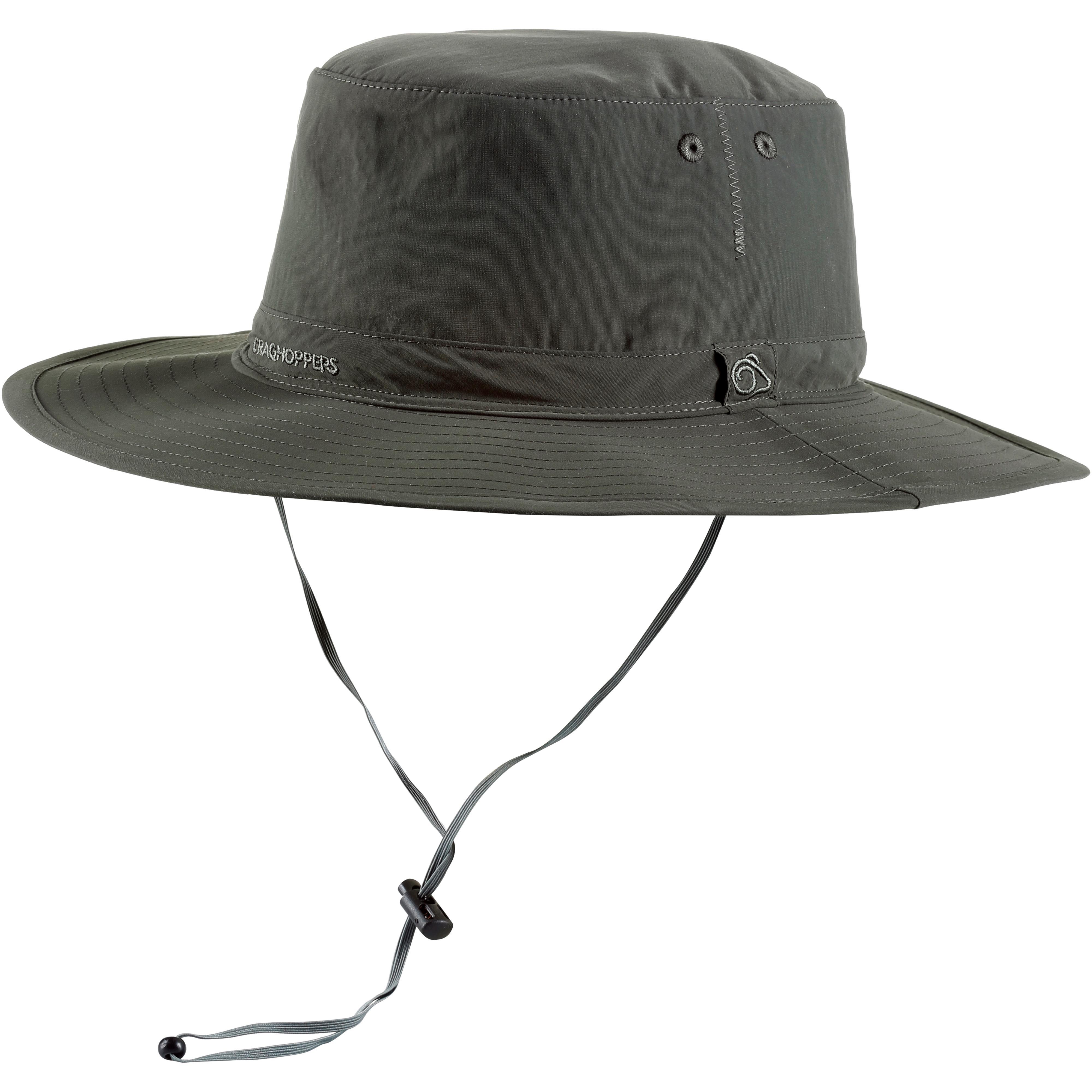 h�te online kaufen sonnen \u0026 trekkingh�te bei sportscheck  craghoppers nosilife outback hut herren dark khaki