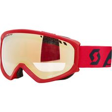 SCOTT Faze Light Sensitive Skibrille fluo red/eclipse blue