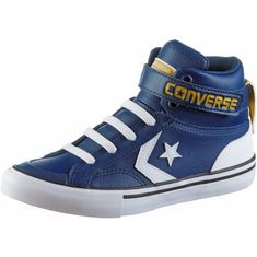 CONVERSE Pro Blaze Strap Sneaker Kinder navy-white-mineral yellow