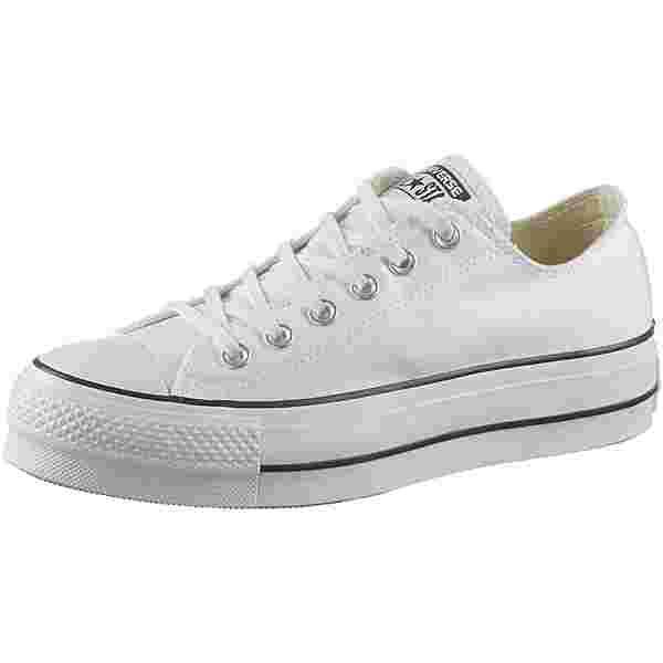 CONVERSE CTAS LIFT OX Sneaker Damen white-black-white