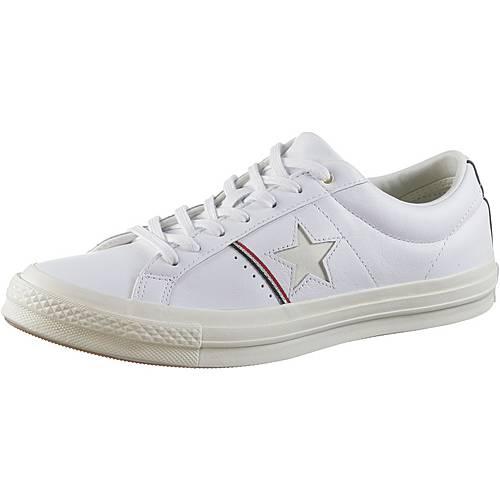 CONVERSE ONE STAR OX Sneaker Herren white-enamel red-egret im Online Shop von SportScheck kaufen