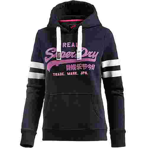 superdry hoodie damen eclipse navy im online shop von sportscheck kaufen. Black Bedroom Furniture Sets. Home Design Ideas