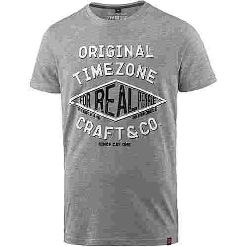 TIMEZONE T-Shirt Herren paloma grey melange