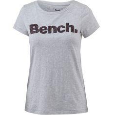 Bench T-Shirt Damen summer grey marl