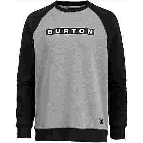 Burton VAULT Sweatshirt Herren GRAY HEATHER
