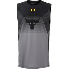 Under Armour Project Rock Vanish Funktionstank Herren black