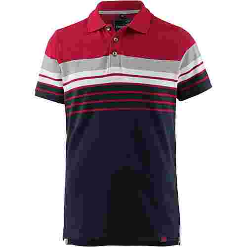 TIMEZONE Poloshirt Herren navy red stripe