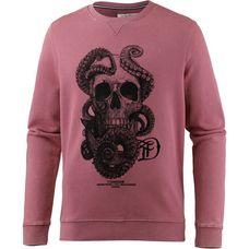 TOM TAILOR Sweatshirt Herren dusty rose red
