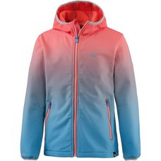 Regatta Softshelljacke Kinder neonpeach-pluto