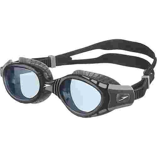 SPEEDO Futura Biofuse Flexiseal Schwimmbrille cool grey/black/smoke