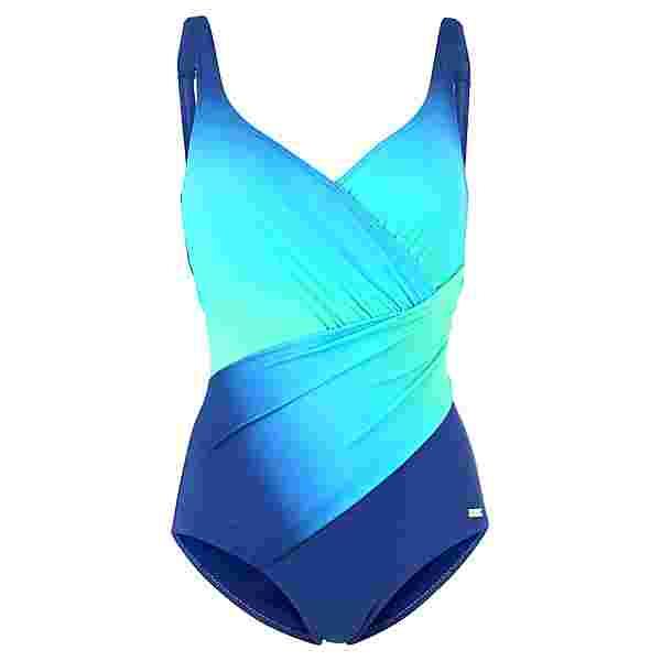 Lascana Badeanzug Damen blau-türkis
