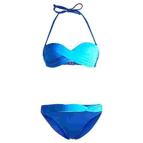Lascana Bikini Set Damen blau-türkis