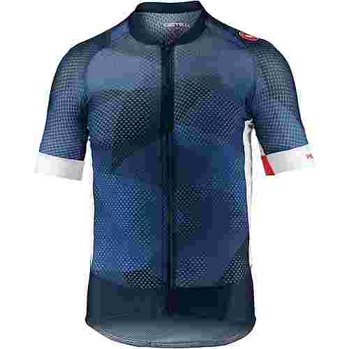 castelli Climbers Fahrradtrikot Herren dark infinity blue/white
