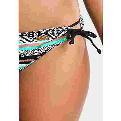 Lascana Bikini Hose Damen schwarz-mint