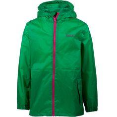 Regatta Pack-It-Jacket III Regenjacke Kinder island green