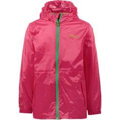 Regatta Pack-It-Jacket III Regenjacke Kinder hot pink