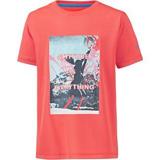 Regatta T-Shirt Kinder neon peach