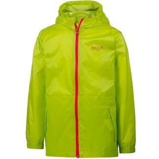 Regatta Pack-It-Jacket III Regenjacke Kinder lime zest