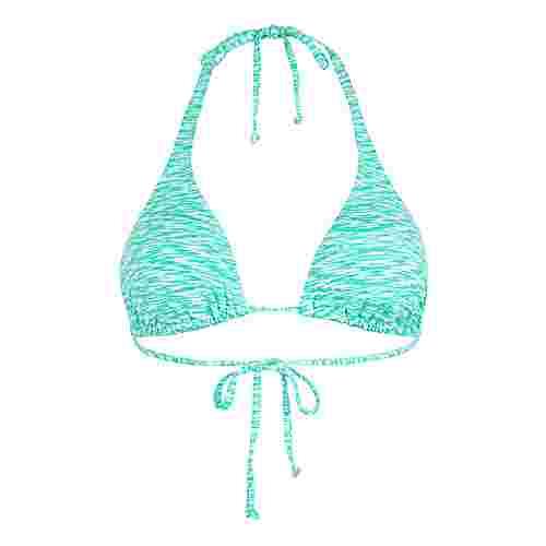 VENICE BEACH Bikini Oberteil Damen mint-weiß