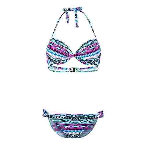 S.OLIVER Bikini Set Damen mint-fuchsia