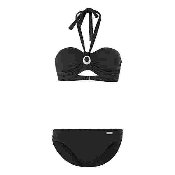 Lascana Bikini Set Damen schwarz