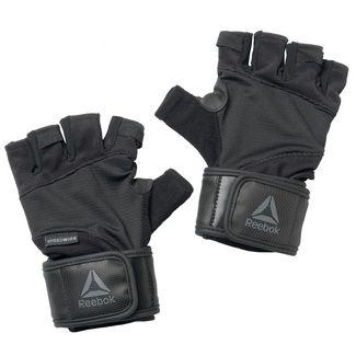 Reebok Training Wrist Gloves Fitnesshandschuhe Herren Black / Tin Grey